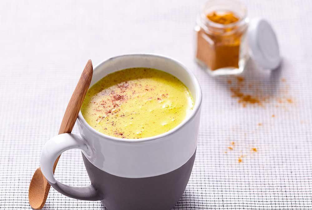 LECHE VEGETAL CON CÚRCUMA (golden milk)